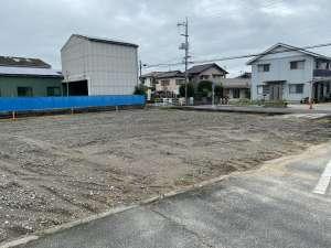 月極駐車場予定地